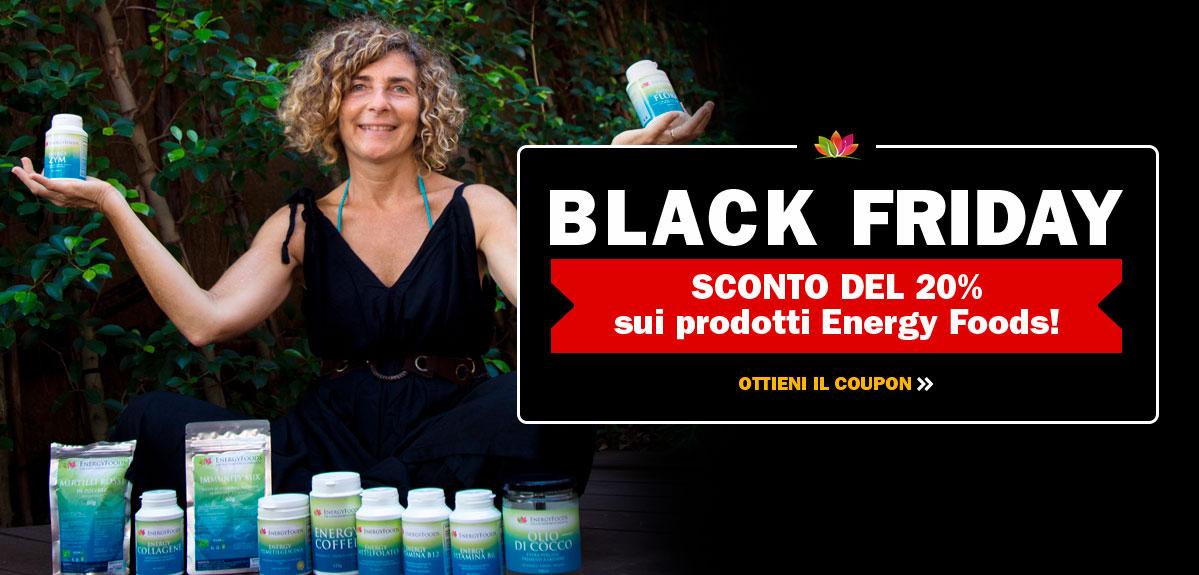 Offerte EnergyFoods Black Friday