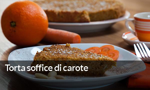 Torta soffice di carote