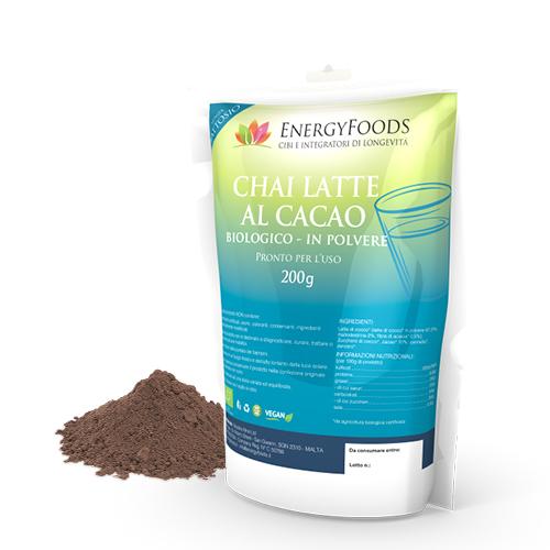 Energy Chai Latte Al Cacao